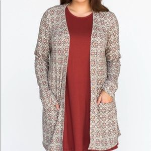 Golden Tiles Essential Cardigan by A&D NWT